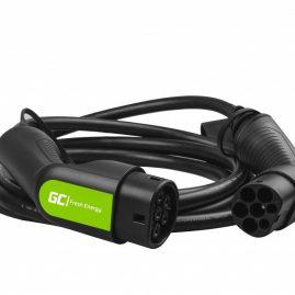 Cavo Green Cell GC Tipo 2 22kW 5,4 piedi per la ricarica di veicoli elettrici